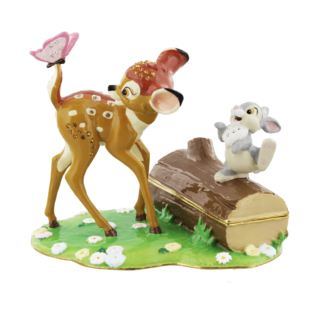 Disney Classic Trinket Box - Bambi & Friends *(18/24)* Product Image