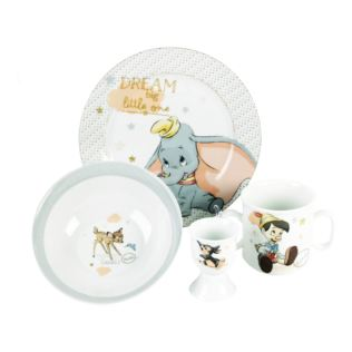 Disney Crockery Set - Dumbo, Pinocchio, Thumper & Bambi Product Image