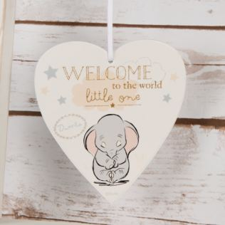 Disney Magical Beginnings Heart Plaque- Welcome to the World Product Image