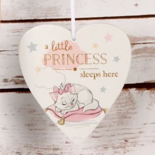 Disney Magical Beginnings Heart Plaque - Little Princess Product Image