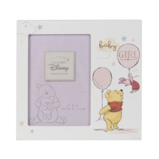 "4"" x 6"" - Disney Magical Beginnings Frame - Pooh Baby Girl Product Image"