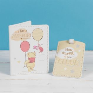 Disney Magical Beginnings Passport & Luggage Tag Pooh Product Image