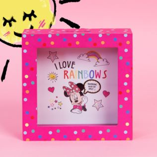 Disney Minnie Mouse Pink Polka Dot Money Box Product Image