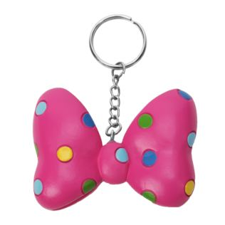 Disney Minnie Mouse 3D Bow Resin Keyring Product Image