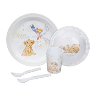 Disney Magical Beginnings 5pc Melamine Crockery Set - Simba Product Image