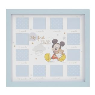 Disney Magical Beginnings My First Year Frame - Mickey Product Image