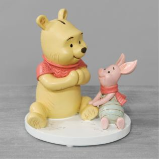 Disney Christopher Robin Resin Money Bank Winnie & Piglet Product Image