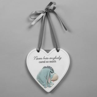 Disney Christopher Robin Relief Heart Eeyore Plaque Product Image