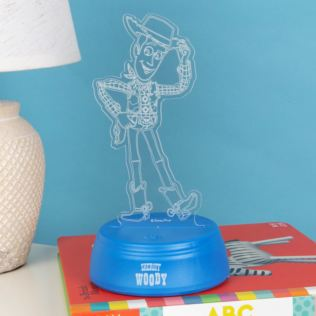 Disney Toy Story 4 Woody Laser Etched Light Product Image