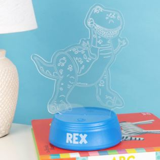 Disney Toy Story 4 Rex Laser Etched Light Product Image