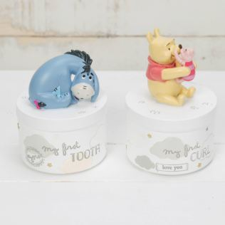 Disney Magical Beginnings Tooth & Curl Boxes - Pooh & Eeyore Product Image