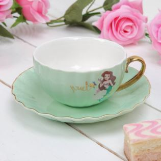 Disney Pastel Princess Tea Cup & Saucer - Ariel Product Image