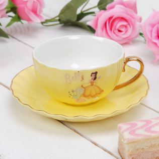 Disney Pastel Princess Tea Cup & Saucer - Belle Product Image