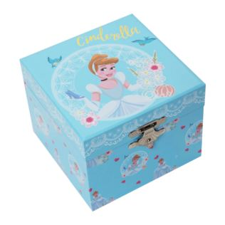 Disney Pastel Princess Musical Jewellery Box - Cinderella Product Image