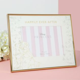 "7"" x 5"" Disney Happily Ever After Wedding Frame - Cinderella Product Image"