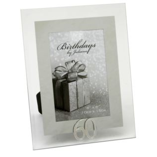 "4"" x 6"" - Birthdays by Juliana Photo Frame - 60th Product Image"
