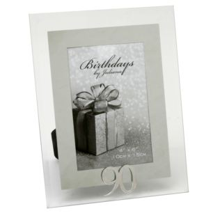 "4"" x 6"" - Birthdays by Juliana Photo Frame - 90th Product Image"