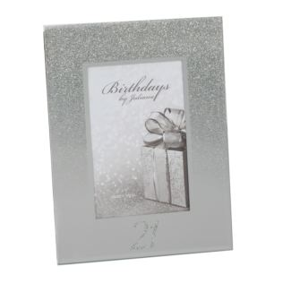 "4"" x 6"" - Birthdays by Juliana Glitter Mirror Frame - 21st Product Image"