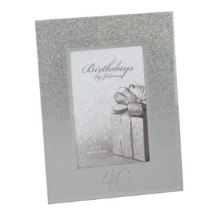 "4"" x 6"" - Birthdays by Juliana Glitter Mirror Frame - 40th Product Image"