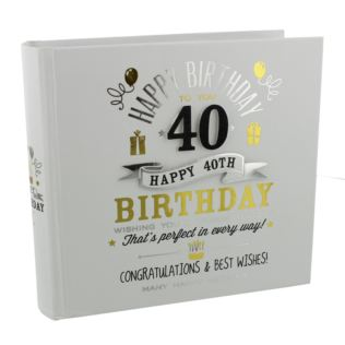 Signography 40th Birthday Photo Album Product Image