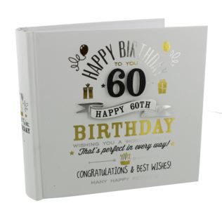 Signography 60th Birthday Photo Album Product Image