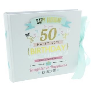 Signography 50th Birthday Photo Album Product Image