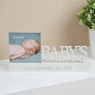 "4"" x 4"" - Celebrations Photo Frame - Christening Product Image"