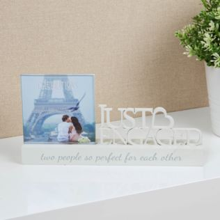 "4"" x 4"" - Celebrations Photo Frame - Engagement Product Image"