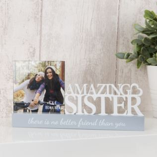 "4"" x 4"" - Celebrations Photo Frame - Sister Product Image"