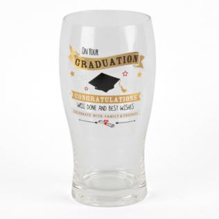 Signography Gold Beer Glass - Graduation Product Image