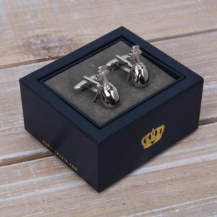 Harvey Makin Cufflinks - Golf Bag Product Image