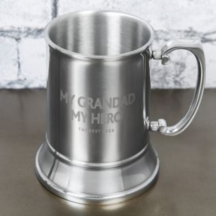 Hero Metal Tankard - My Grandad Product Image