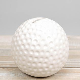 Harvey Makin Ceramic Golf Ball Money Bank Product Image