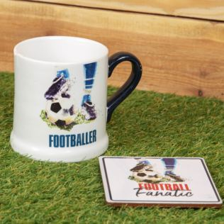 Armchair Supporters Society Mug & Coaster Gift Set- Football Product Image
