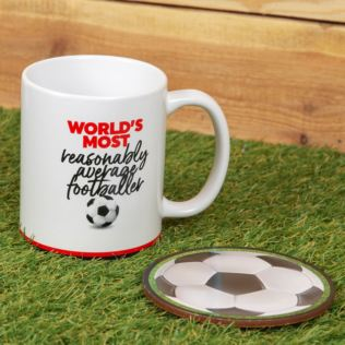Armchair Supporters Society Mug & Coaster Set - Football Product Image