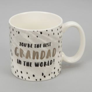 Luxe Ceramic Mug - Best Grandad in The World Product Image