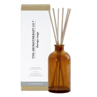 250ml Breathe Therapy Reed Diffuser Rosemary & Peppermint Product Image