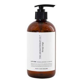 Therapy 500ml Lotion - STRENGTH - Sandalwood & Cedar Product Image