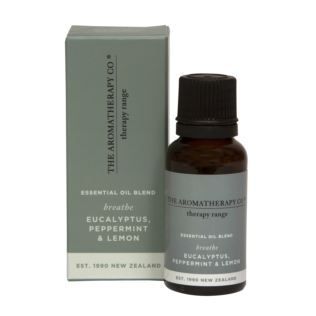 Essential Oil Blend 20ml - Breathe - Eucalyptus, Peppermint Product Image