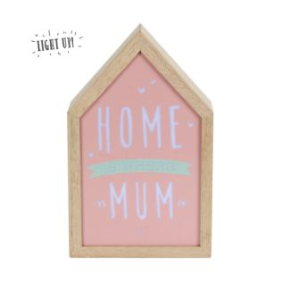 Love Life Home Is Where Mum Is Light Up Box Product Image