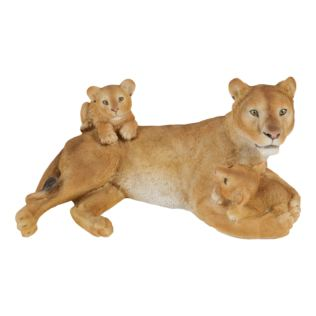Naturecraft Resin Figurine - Lioness and Cubs Product Image
