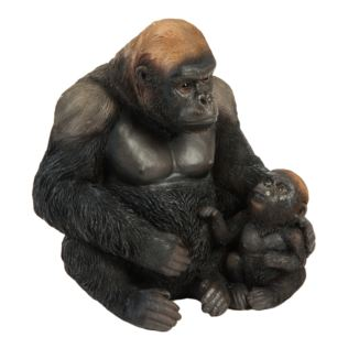 Naturecraft Resin Figurine - Gorilla and Baby Product Image