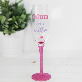 True Mothers Day Prosecco Glass - Mum In A Million Product Image