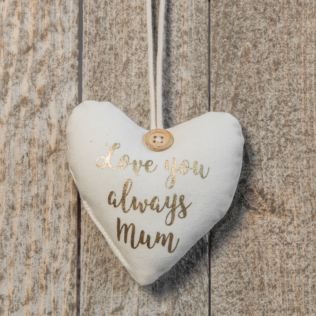 Love You Always Mum Boxed Heart Hanging Ornament Product Image