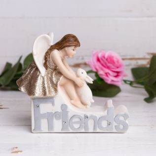 Thoughts Of You Angel Figurine - Friends Product Image