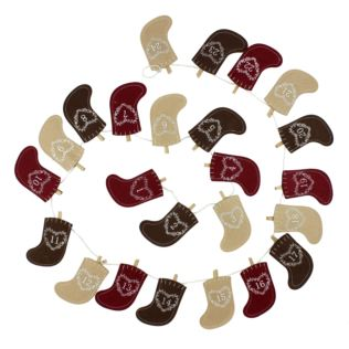 Christmas Stocking Advent Bunting Product Image