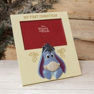 Disney Baby's First Christmas Photo Frame - Eeyore Product Image