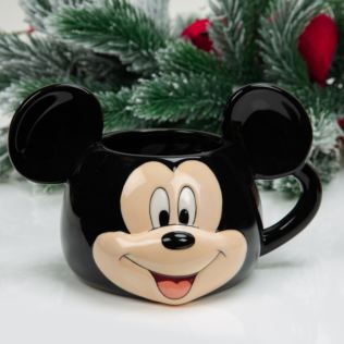 Disney 3D Earthenware Ceramic Mickey Mouse Mug Product Image