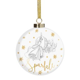 Disney Classic Collectables Luxury Ceramic Bauble Cinderella Product Image