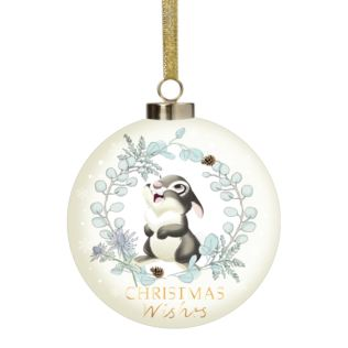 Disney Bambi Enchanted Forest Ceramic Thumper Bauble Product Image